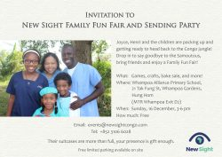 Family Fun Fair invitation